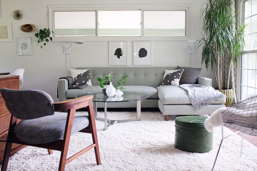 Sage Green Living Room Decorating Ideas