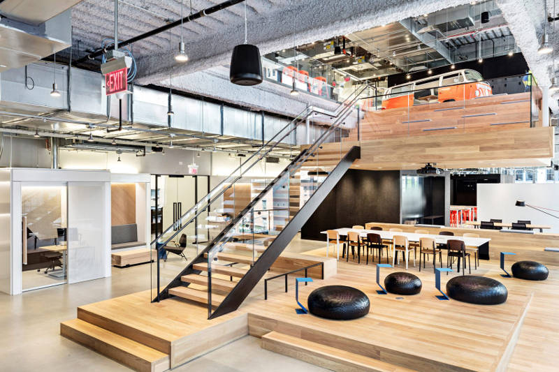 Beautiful Nike Office Design Contemporary Office Spaces   Freshome.com