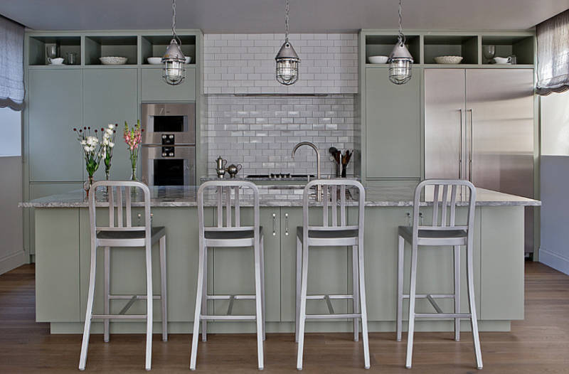 decorating with sage green- freshome.com