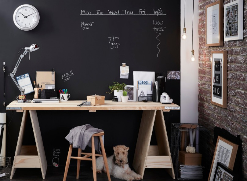 The Writing S On The Wall 20 Decorating With Chalkboard Paint Ideas