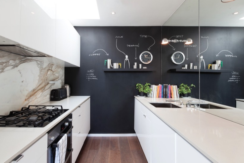 how to use chalkboard paint - freshome.com