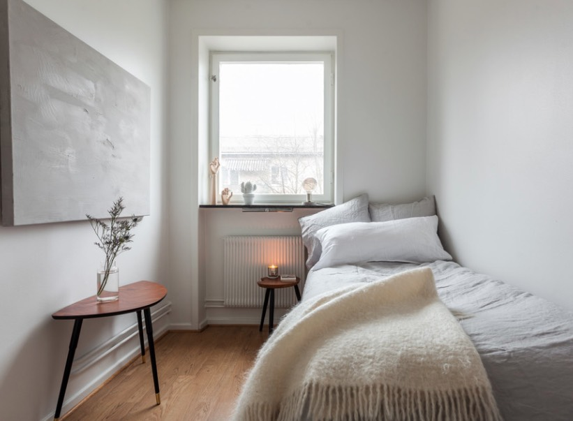 The secret to small space design go big - Bed ideas for small spaces ...