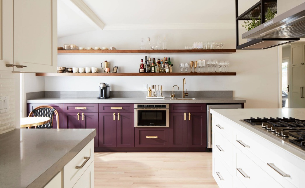 Two Tone Kitchen Cupboards Make one set of cabinets your focal point. Image: J NORD WOLFE General  Contracting Inc.