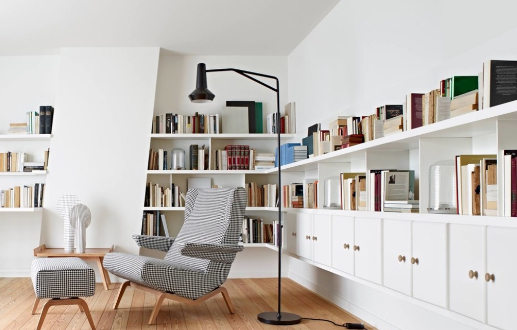Take Our Advice And Create A Home Library Of Your Own Image Linea Inc