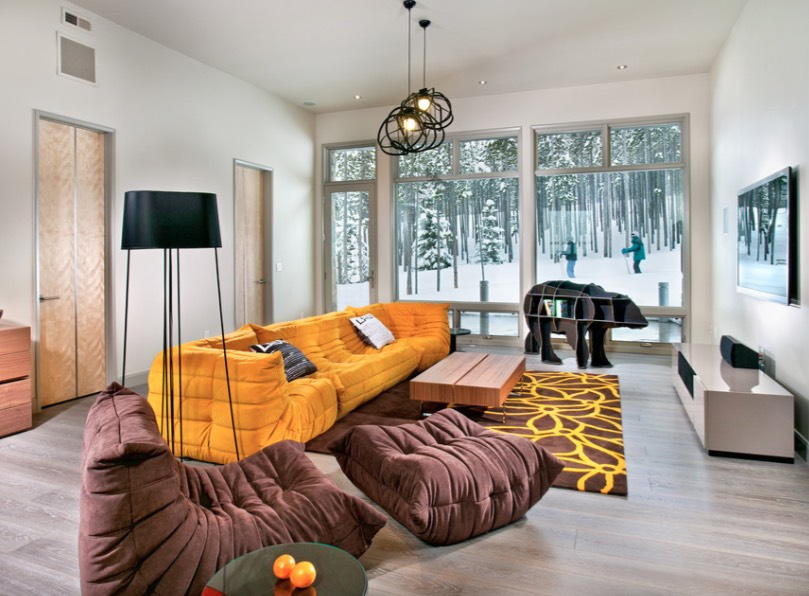 Family Rooms With Fun Seating