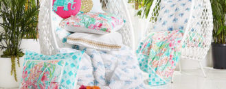 New Lilly Pulitzer and Pottery Barn Collab: Sunshine, Flamingos and Tropical Happiness
