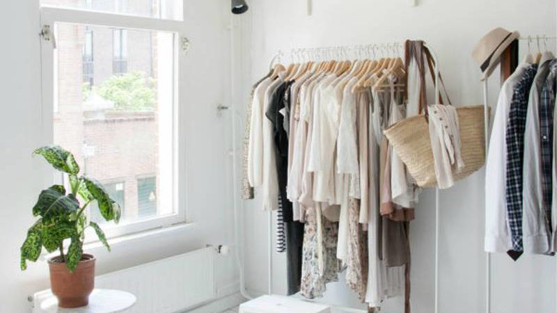 Check Out These 15 No-Closet and Tiny Closet Ideas That Work