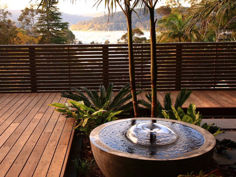 Small Water Features For Decks