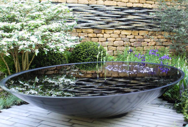 20 Small Garden Water Feature Ideas To Add A Little More Zen