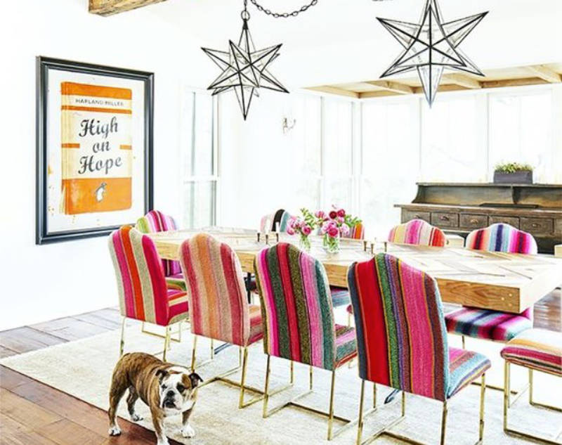 mexican style bohemian chic