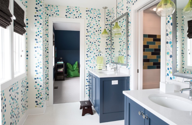 Blue Bathroom Ideas Freshome