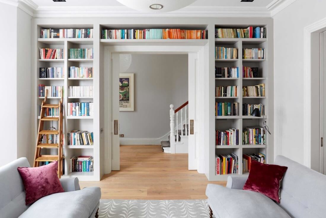Decorate With Books Built In Shelving