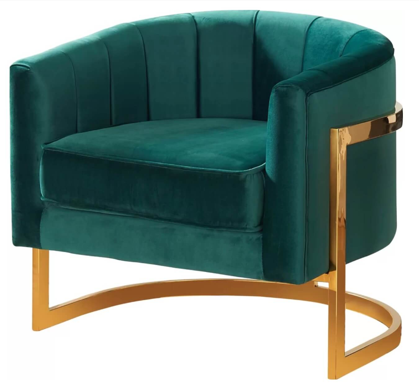 Green Glam Chair