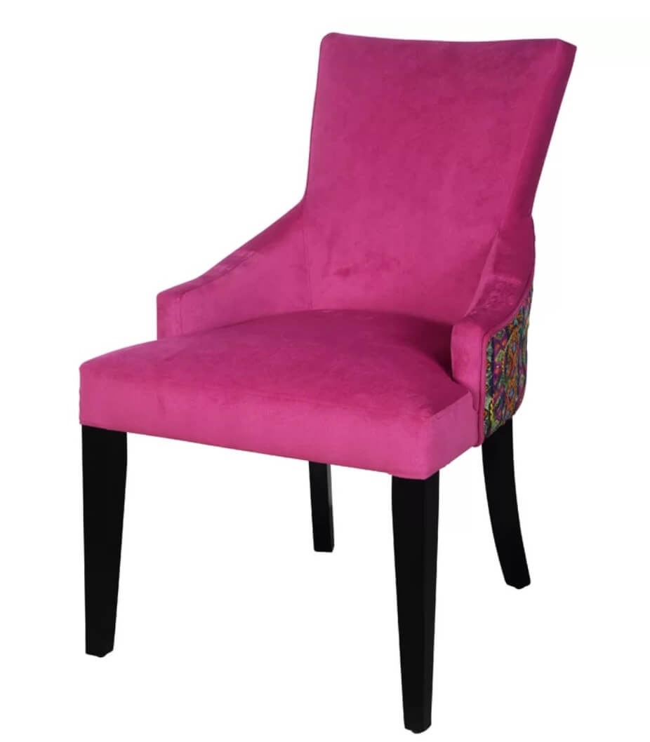 Fuchsia Boho Chair