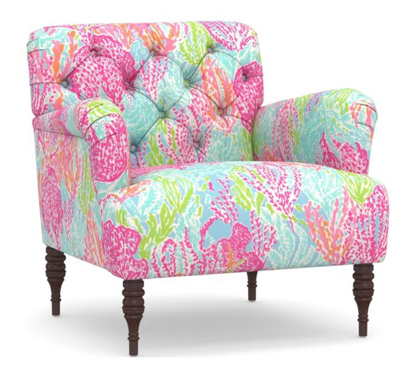 Lilly Pulitzer glam chair