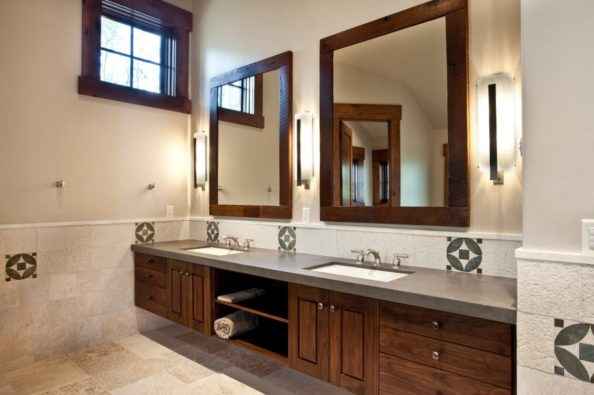 Trimmed mirrors