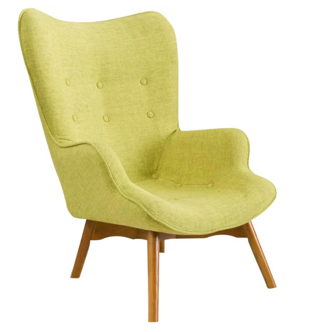 Green Modern Accent Chair