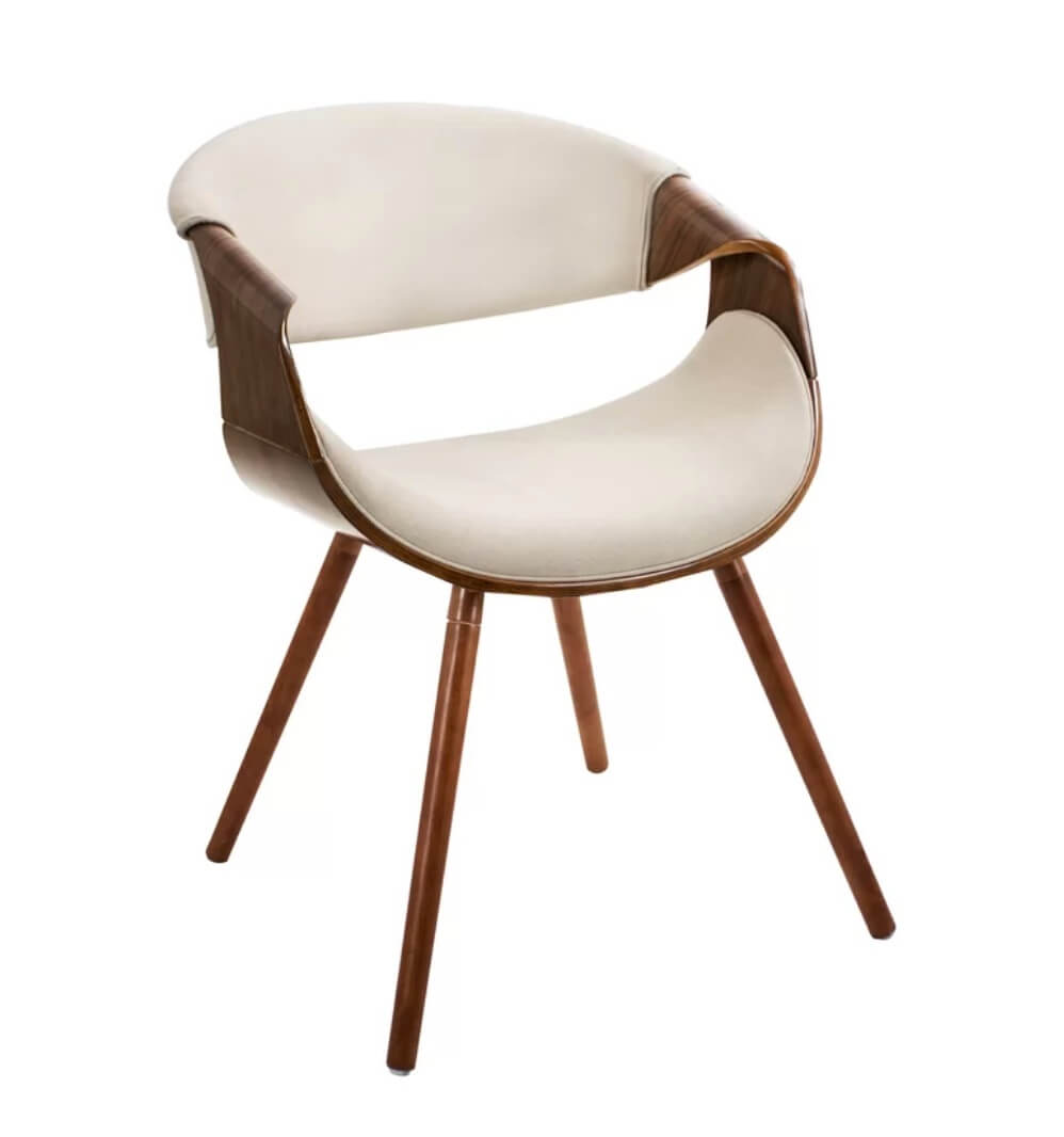 Wood mid-century modern chair