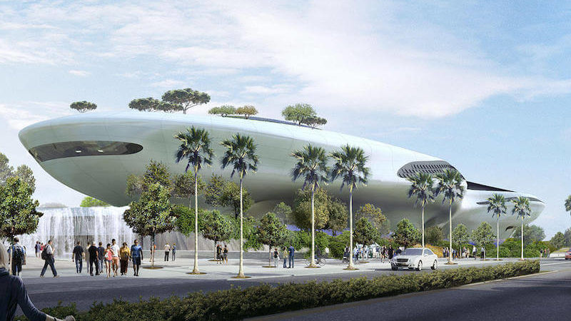 Straight out of Star Wars: The Architecture of LA's New Lucas Museum
