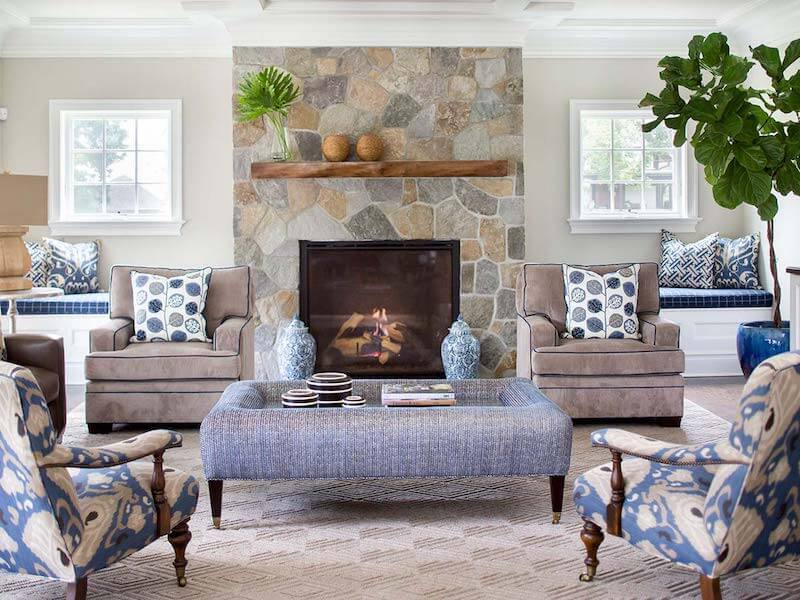 how to use the rule of three in living room decor for wow worthy