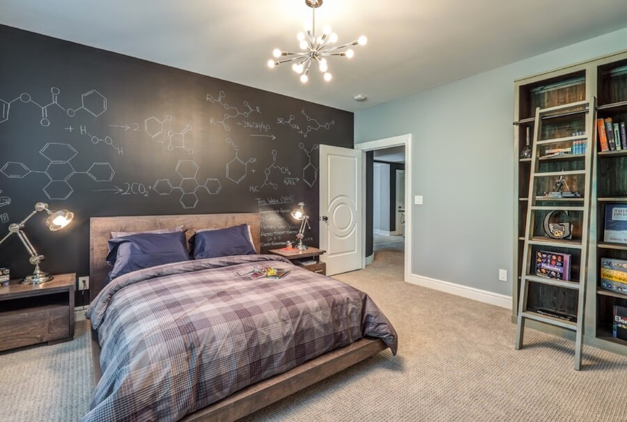 Chalkboard to Decorate Bedrooms Chemistry Design