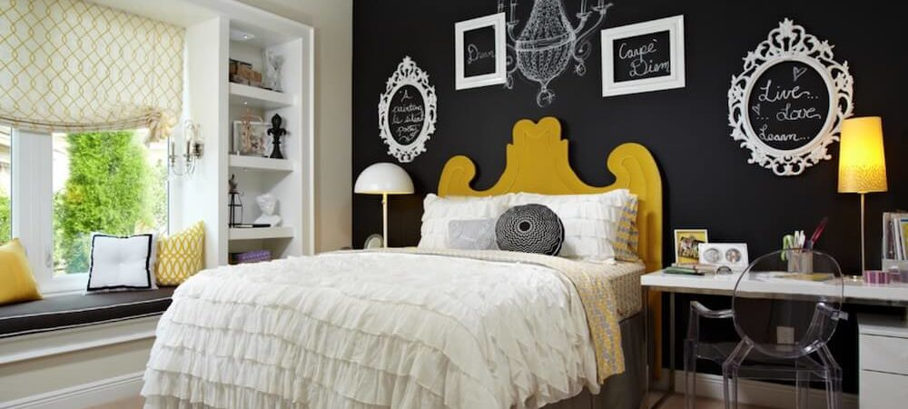 3 Ways to Use Chalkboard to Decorate Bedrooms