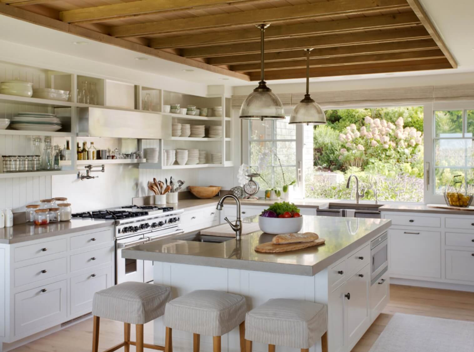Farmhouse Kitchen Fixture Ideas