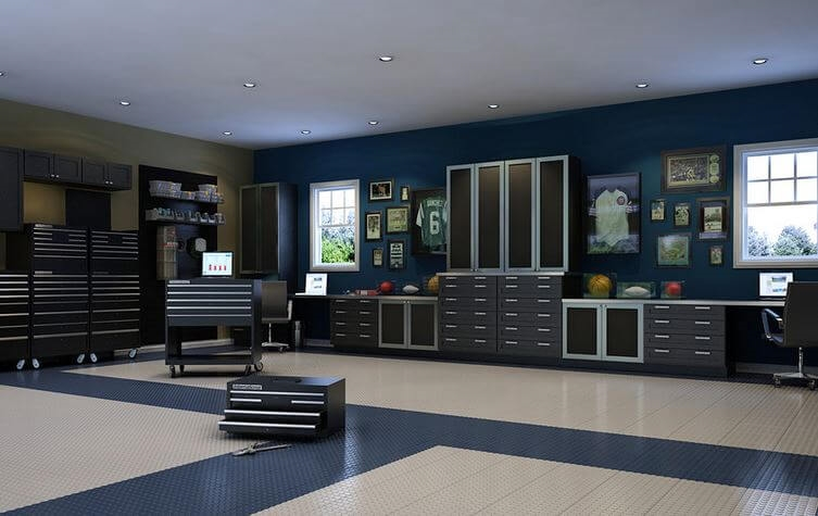 Boring Garage Turn It Into A Showstopper Freshome Com