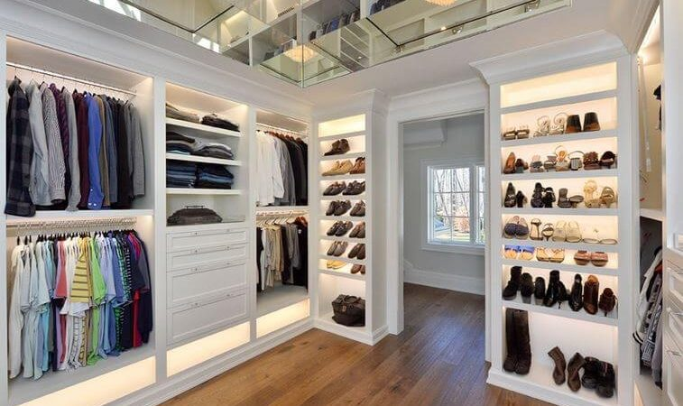 Walk-In Closets to Die For