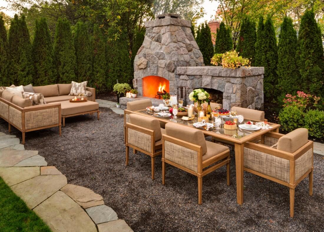 Outdoor Living Spaces Dining Area