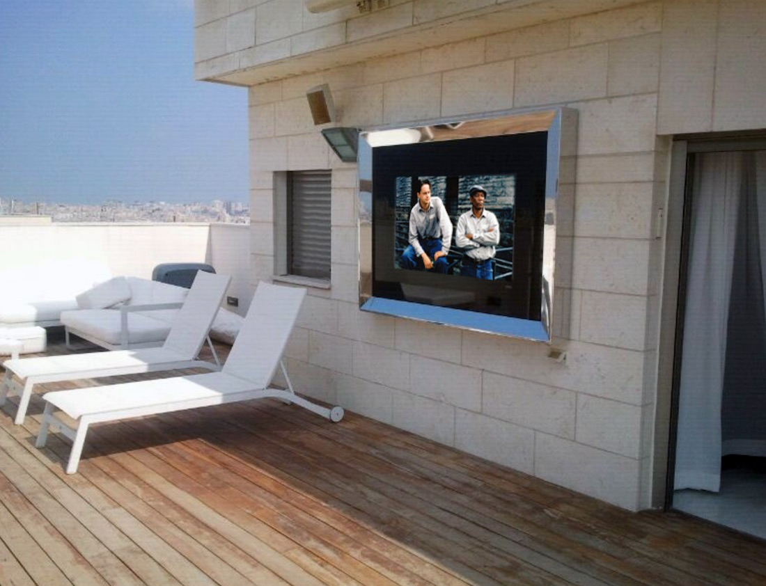 Outdoor Living Spaces TV Silver