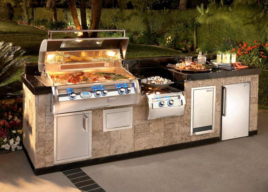 Outdoor Living Spaces Grill