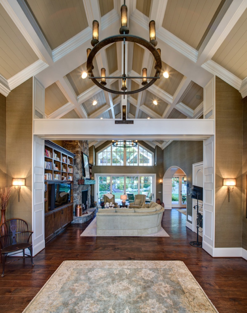 Statement Ceilings White Beams