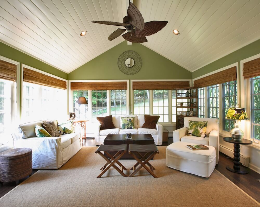 Statement Ceilings Green Paint