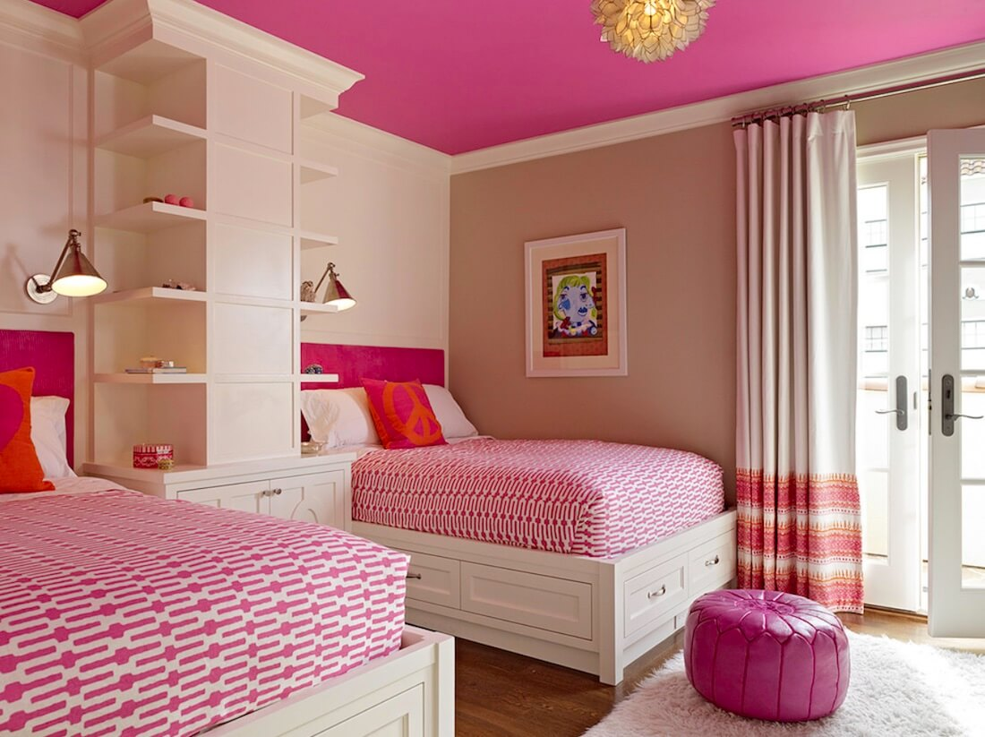 Statement Ceilings Hot Pink