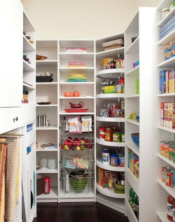 Kitchen Pantries Storage