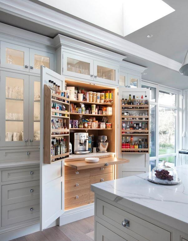 kitchen pantries doors