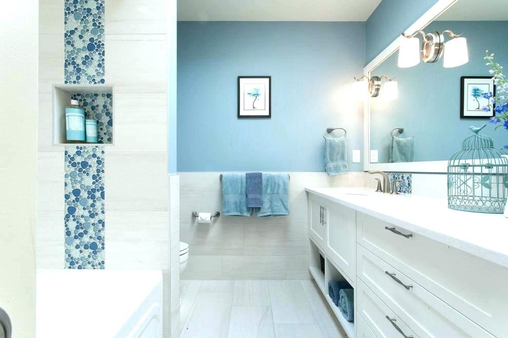 selling or renovating blue bathrooms like these increase home value