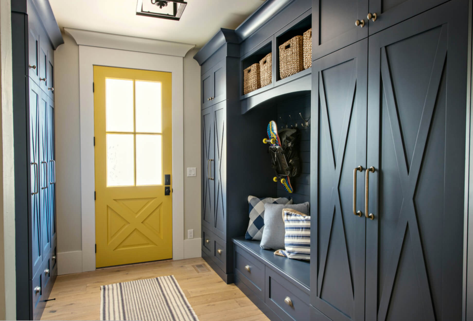 foyer mudroom colors