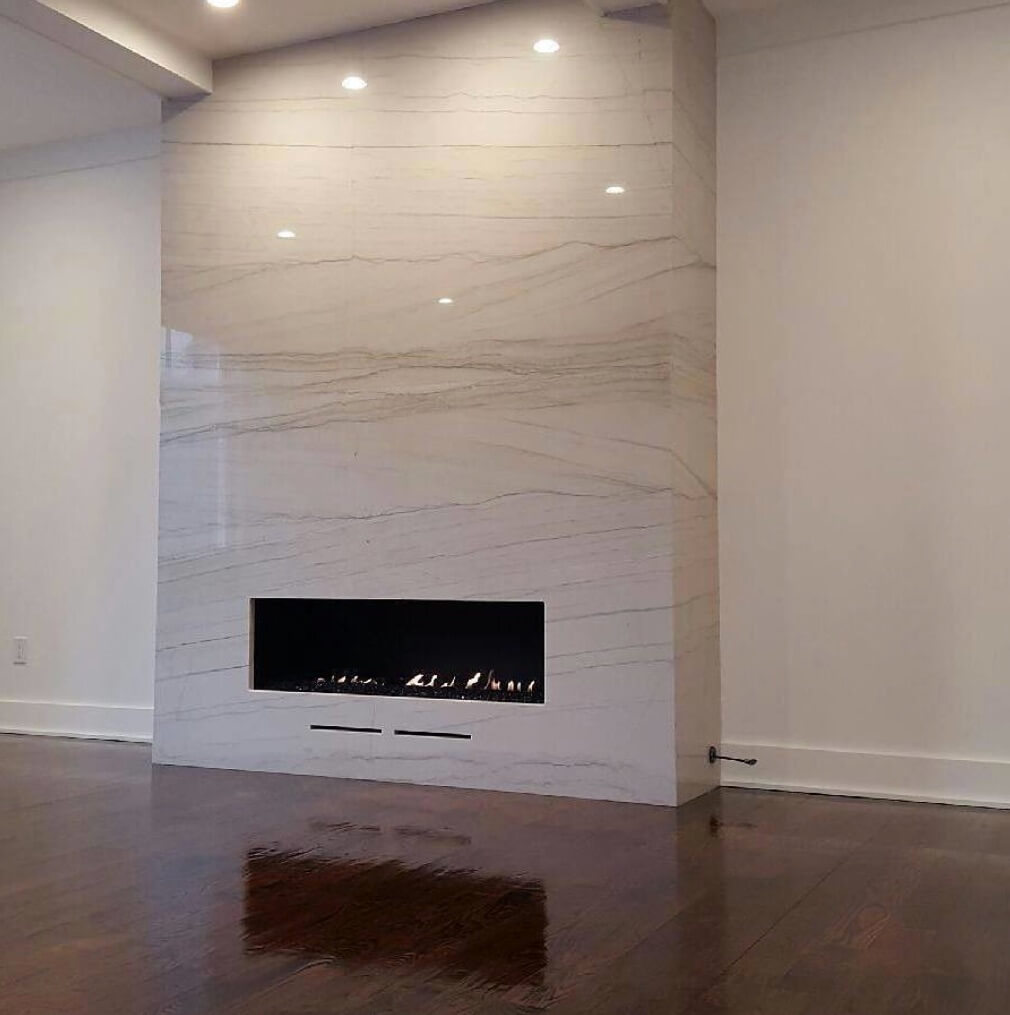 Indoor Fireplaces Full Marble