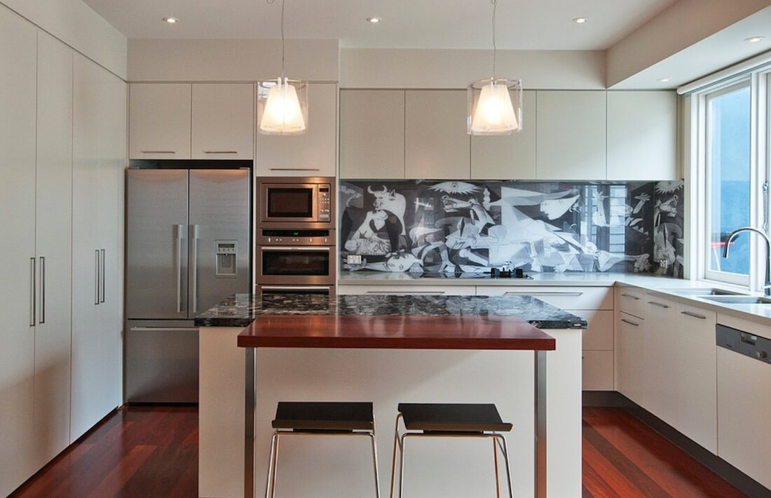 6 Ideas For Using Kitchen Backsplash Contrast Freshome Com