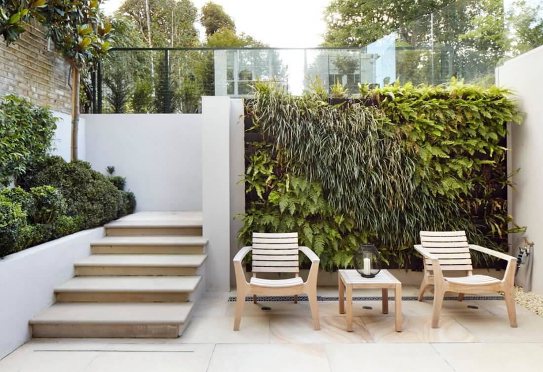 Natural Textures Plant Wall Outdoors
