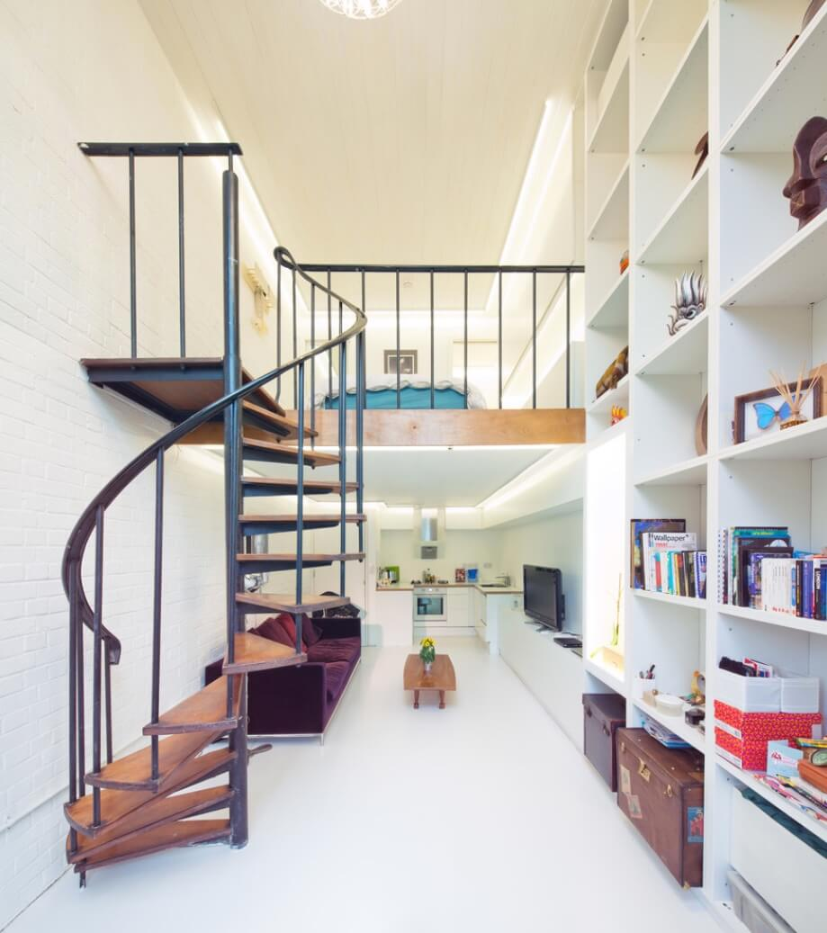 6 Ways to Get in on the Spiral Staircase Trend | Freshome com