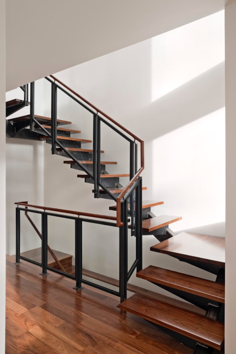 Spiral Staircase Square Style