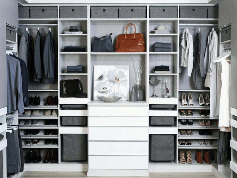 6 closet cleaning tips to finally get your wardrobe organized. Black Bedroom Furniture Sets. Home Design Ideas
