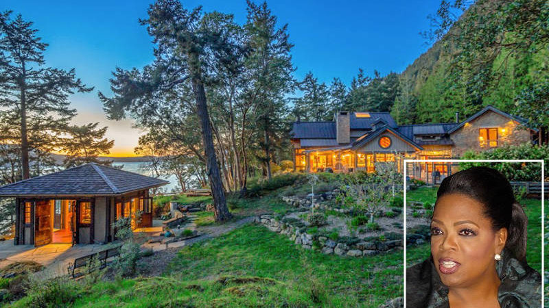 Check out Oprah's New Orcas Island Getaway