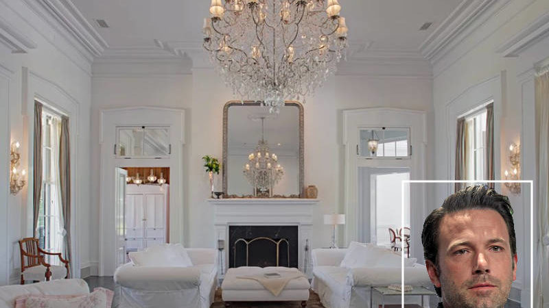 Take a Look Inside Ben Affleck's Plantation House Full of Southern Charm Before It Sells
