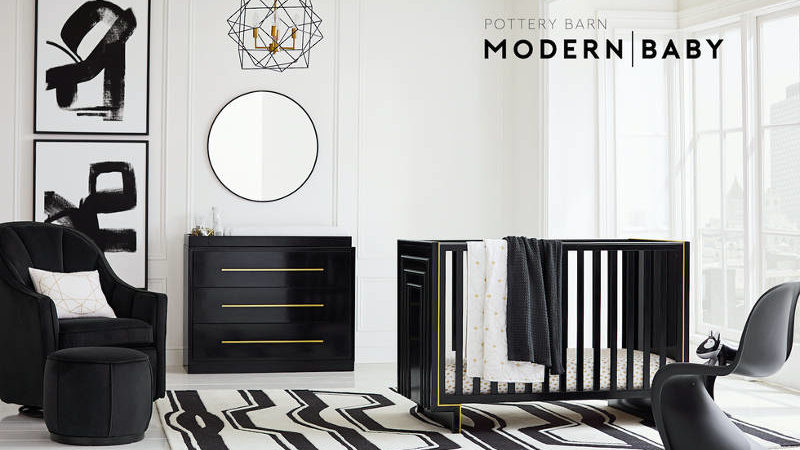 The New Pottery Barn Modern Baby Line Is Perfect for the Glam Fam