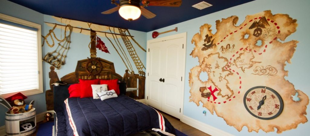 Here Are 16 Cute and Captivating Wall Mural Ideas to Inspire Your Next Kid's Room Makeover