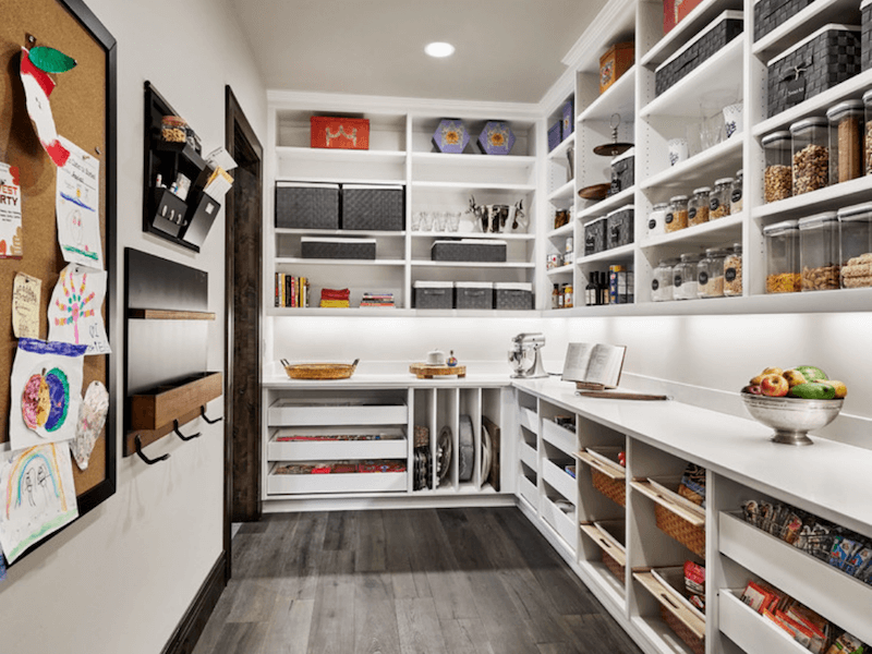 pantry baskets - areas